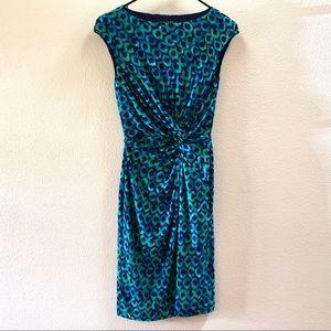 Lauren Ralph Lauren Dresses - 🚚 EUC LAUREN RALPH LAUREN Peacock Pattern Dress